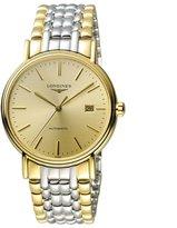 Longines Men's 38mm Two Tone Steel Bracelet & Case Automatic Watch L49212327