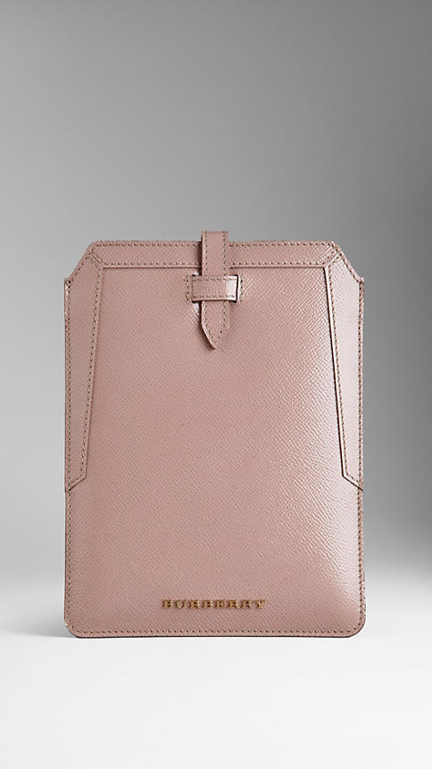 Thumbnail for your product : Burberry Patent London Leather iPad Mini Case