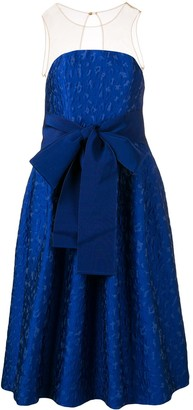 P.A.R.O.S.H. belted prom dress
