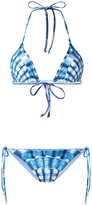 Mara Hoffman shell print bikini set - women - Nylon/Spandex/Elastane/Recycled Polyester - XS