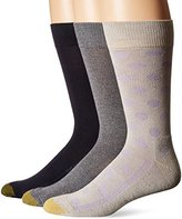 Gold Toe Men's Performance Dot Crew 3-Pack Sock