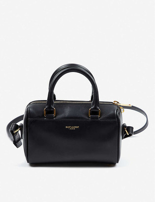 Vestiaire Collective Saint Laurent leather duffel bag