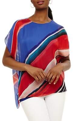 Phase Eight Harper Silk Blouse, Multi