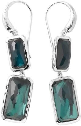 Ippolita Sterling Silver Wonderland 2-Stone Quartz Drop Earrings