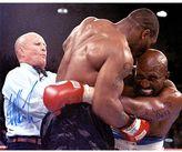 """Steiner Sports Mike Tyson & Evander Holyfield 16"""" x 20"""" Signed Photo"""