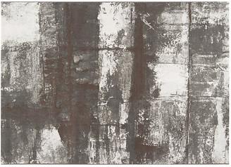 One Kings Lane Contempo Rug - Gray/White - 2'x3'