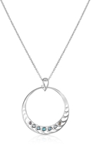 Sho London Sterling Silver Pendant Necklace