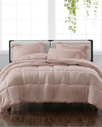 Cannon Solid Blush 3Pc Comforter Set