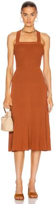Alexis Bess Dress in Rust | FWRD