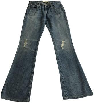 Paper Denim & Cloth Blue Cotton Jeans for Women
