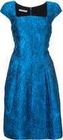 Oscar de la Renta flared dress