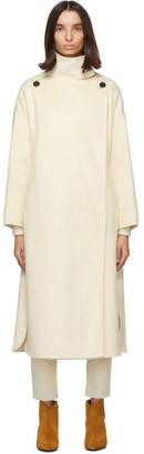 Isabel Marant Off-White Wool Relton Coat