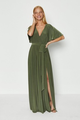 Coast Jersey Flared Sleeve Wrap Maxi Dress