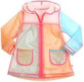 Billieblush Color Blocked Plastic Rain Coat
