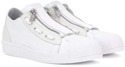 Y-3 Super Zip leather sneakers
