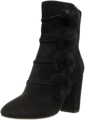 The Fix Women's Lyla Ankle Bootie with Pom-poms Ankle Bootie