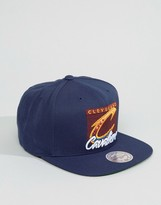 Mitchell & Ness Snapback Cap Easy Three Digital Cleveland Cavaliers