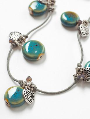White Stuff Ceramic & Heart Necklace