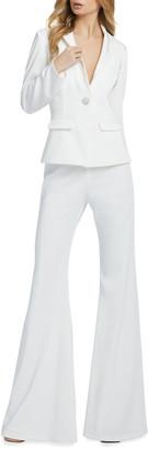 Mac Duggal Blazer & Wide-Leg Pantsuit