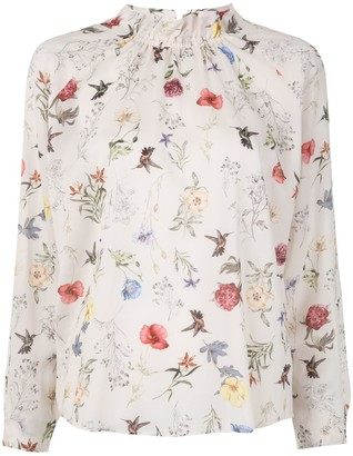 TOMORROWLAND Floral-Print Blouse