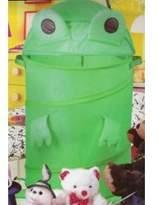 "I.H.C. Frog Hamper (Green) (32"" tall x 18"" diameter)"