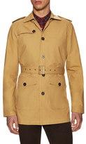 Gilded Age Cotton Woven Trench Coat