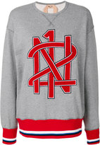 No.21 branded sweatshirt - women - Cotton/Polyester - 40