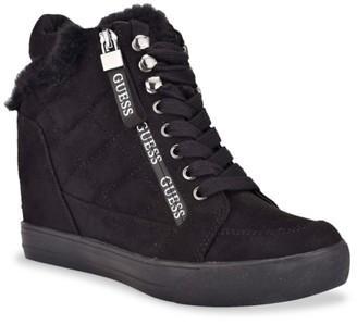 GUESS Dayli Wedge Sneaker