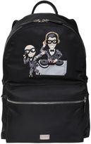 Dolce & Gabbana Dj Designers Nylon Backpack