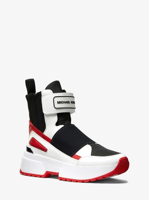MICHAEL Michael Kors Cosmo Canvas High-Top Trainer