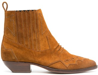 Roseanna Tucson suede ankle boots