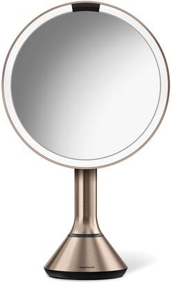 Simplehuman Eight Inch Sensor Makeup Mirror with Brightness Control