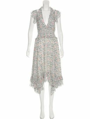 Ulla Johnson Silk Maxi Dress w/ Tags White