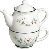 Pfaltzgraff Winterberry Tea For One Serving Pot