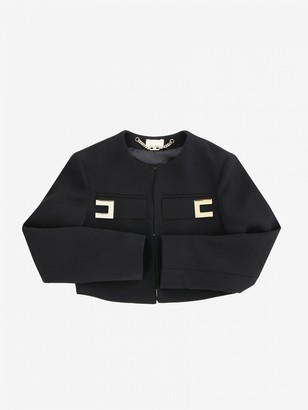 Elisabetta Franchi Jacket With Logo