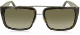 Marc Jacobs MARC 57/S Acetate Rectangular Aviator Men's Sunglasses