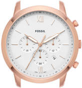 Fossil Neutra Chronograph Rose Gold-Tone Stainless Steel Watch Case