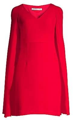 Trina Turk Women's Shinrin Cape Dress - Size 0