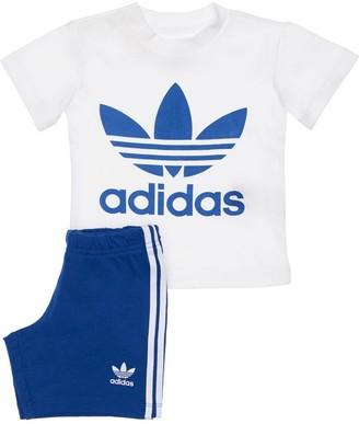 adidas Cotton T-shirt & Sweat Shorts