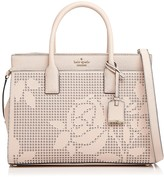 Kate Spade Cameron Street Candace Perforated Leather Satchel