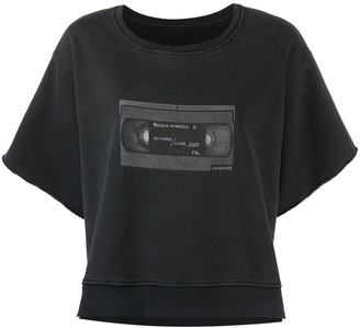 MM6 MAISON MARGIELA Cassette Tape Print Sweatshirt