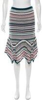 Missoni Striped Knit Skirt
