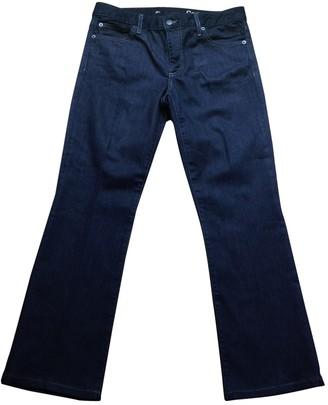 Gap Navy Cotton Jeans