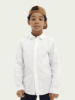 Scotch & Soda Slim fit cotton dress shirt | Boys