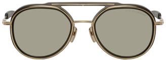 Dita Gold and Grey Spacecraft Sunglasses