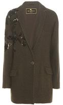 Etro Sequinned Wool-blend Jacket