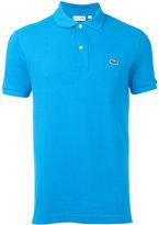 Lacoste logo patch polo shirt