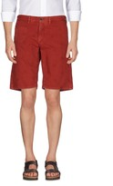 Incotex Red Bermudas - Item 36972304