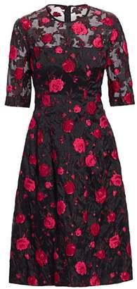 Lela Rose Holly Rose A-Line Dress