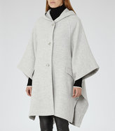Reiss Dita Hooded Cape